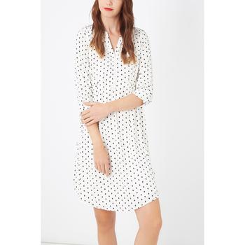 textil Mujer Vestidos cortos Laga D763 BLANCO