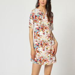 textil Mujer Vestidos cortos Laga D768 BLANCO