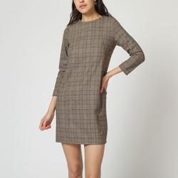 textil Mujer Vestidos cortos Laga D775 MARRON