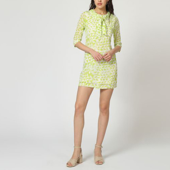 textil Mujer Vestidos cortos Laga D783 VERDE