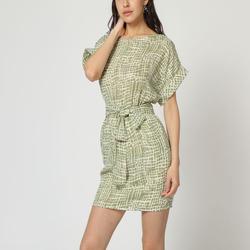 textil Mujer Vestidos cortos Laga D784 VERDE