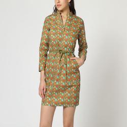 textil Mujer Vestidos cortos Laga D785 VERDE