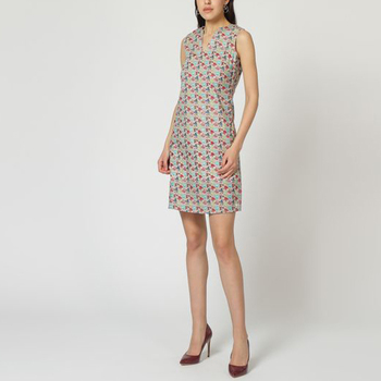 textil Mujer Vestidos cortos Laga D786 BEIGE