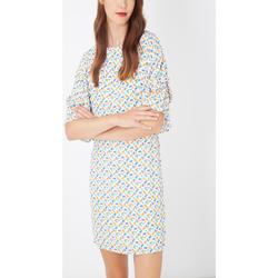 textil Mujer Vestidos cortos Laga D789 BLANCO