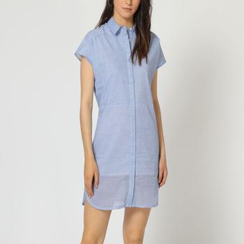 textil Mujer Vestidos cortos Laga D790 AZUL