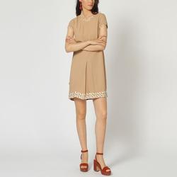 textil Mujer Vestidos cortos Laga D792 BEIGE