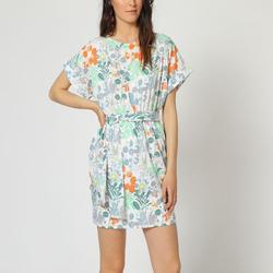 textil Mujer Vestidos cortos Laga D797 BLANCO