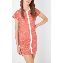 textil Mujer Vestidos cortos Laga D802 ROJO