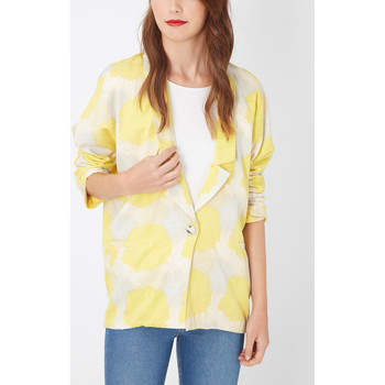 textil Mujer Chaquetas / Americana Laga J132 AMARILLO
