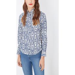 textil Mujer Camisas Laga K396 AZUL