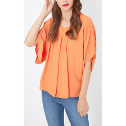 textil Mujer Camisas Laga K403 NARANJA