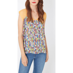 textil Mujer Camisas Laga K407 NARANJA