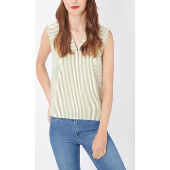 textil Mujer Camisas Laga K412 VERDE