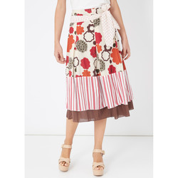 textil Mujer Faldas Laga M14 BEIGE