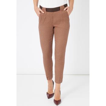 textil Mujer Leggings Laga Q46 MARRON