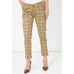 textil Mujer Pantalones chinos Laga Q49 BEIGE