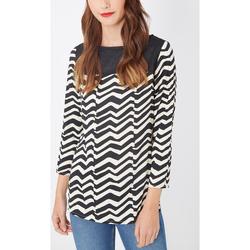 textil Mujer Camisas Laga T80 NEGRO