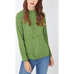 textil Mujer Camisas Laga T82 VERDE