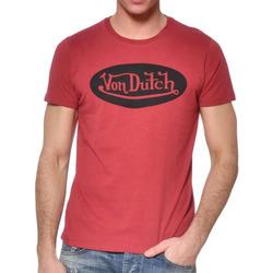 textil Hombre Camisetas manga corta Von Dutch  Rojo