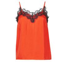 textil Mujer Camisetas sin mangas Les Petites Bombes AMY Naranja