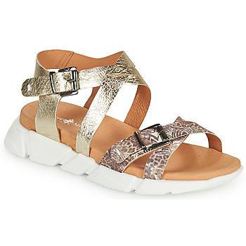 Zapatos Mujer Sandalias Philippe Morvan KAKI V1 Marrón