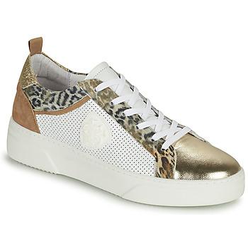 Zapatos Mujer Zapatillas bajas Philippe Morvan SOAPY V3 Blanco / Marrón