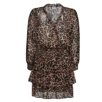 textil Mujer Vestidos cortos Liu Jo WA1530-T5059-T9680 Leopardo