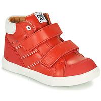 Zapatos Niño Zapatillas altas GBB MORISO Rojo