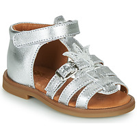 Zapatos Niña Sandalias GBB CARETTE Plata