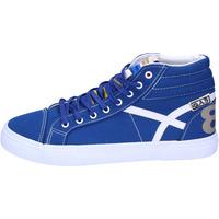 Zapatos Hombre Deportivas Moda Gas BJ59 Azul