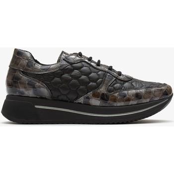 Zapatos Mujer Deportivas Moda Marila Shoes MANHATTAN Negro