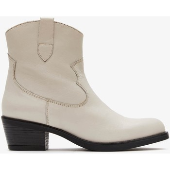 Zapatos Mujer Botas de caña baja Marila Shoes CHLOE Blanco