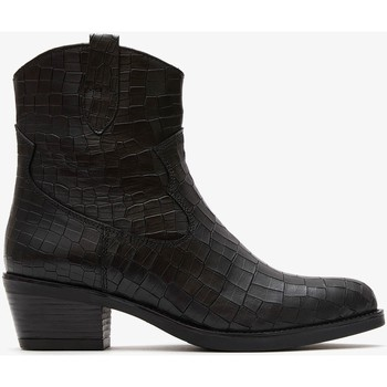 Zapatos Mujer Botas de caña baja Marila Shoes ELBA Negro