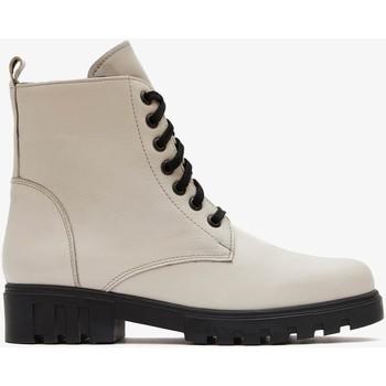 Zapatos Mujer Botas de caña baja Marila Shoes AINA Blanco
