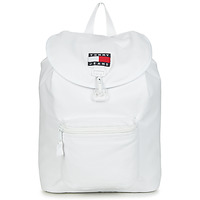 Bolsos Mochila Tommy Jeans TJM HERITAGE FLAP BACKPACK CAN Blanco