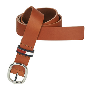 Accesorios textil Mujer Cinturones Tommy Jeans TJW CASUAL OVAL BELT 3.0 Cognac