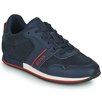 Zapatos Niño Zapatillas bajas BOSS HOLLA Azul