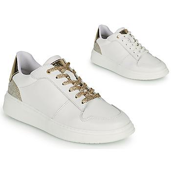 Zapatos Niña Zapatillas bajas BOSS NILLA Blanco / Oro