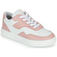 Zapatos Niña Zapatillas bajas BOSS PAOLA Blanco / Rosa
