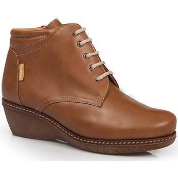 Zapatos Mujer Botines Calzamedi ES  W 0712 MARRON