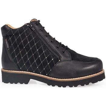 Zapatos Mujer Botas de caña baja Calzamedi ES  W 0713 NEGRO