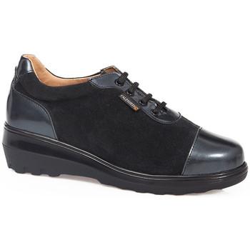 Zapatos Mujer Derbie Calzamedi S  0719 NEGRO