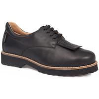 Zapatos Mujer Derbie Calzamedi S  0714 NEGRO