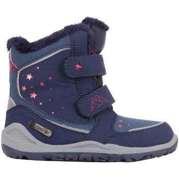 Zapatos Hombre Botas de nieve Kappa Cui Tex Azul marino, Rosa
