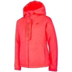 textil Niña Chaquetas 4F JKUDN001 Rojos