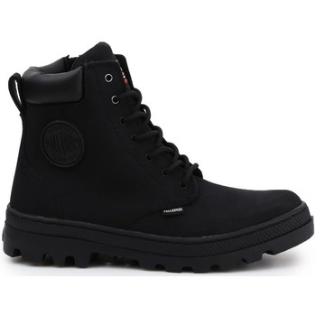 Zapatos Mujer Botas de caña baja Palladium Manufacture Pallabosse SC Waterproof Negros