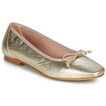 Zapatos Mujer Bailarinas-manoletinas Betty London ONDINE Oro