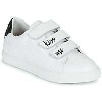 Zapatos Mujer Zapatillas bajas Bons baisers de Paname EDITH KISS ME Blanco