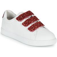 Zapatos Mujer Zapatillas bajas Bons baisers de Paname EDITH BACK LIPS Blanco