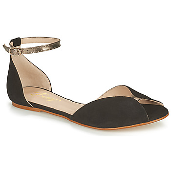 Zapatos Mujer Sandalias Betty London INALI Negro